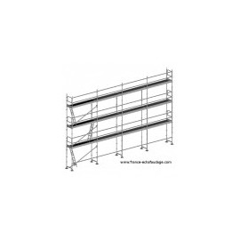 ECHAFAUDAGE FREE STRUCTURE SEULE 109M²