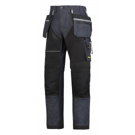 SNICKERS pantalon de travail poche holster ++RUFFWORK denim
