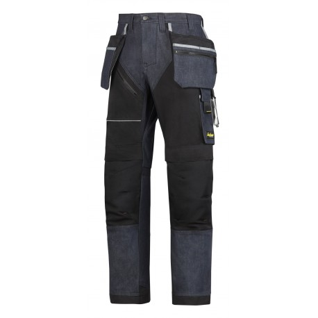 pantalon de travail poche holster ++RUFFWORK denim