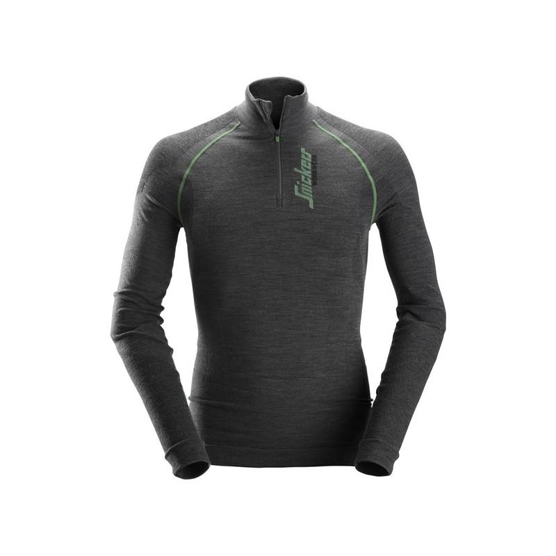 T-Shirt manche longue Merinos 1er couche - PRO-BATI la boutique des ... 748038693de3