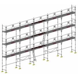 ECHAFAUDAGE BATIDUO 45 LOT 128m² GCSM