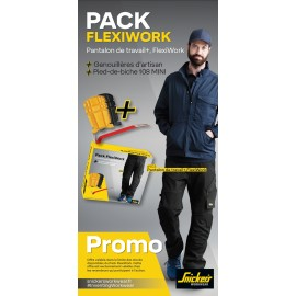 Promo printemps SNICKERS Pantalon de travail FlexiWork