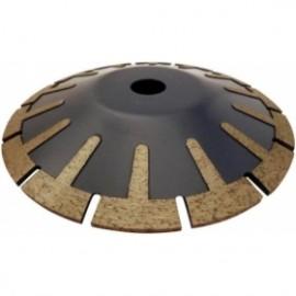 DISQUE DIAMANT SEGMENTE COURBE 115mm