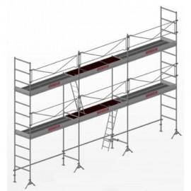 ECHAFAUDAGE DM49/1000 60m² AVEC PLANCHERS