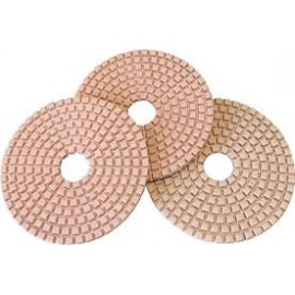 DISQUES POLISSAGE 100mm PADS DIAMANT 3 ETAPES